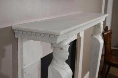 A French Directoire Marble Fireplace Mantel Early 19th century - 269744