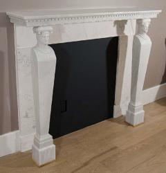 A French Directoire Marble Fireplace Mantel Early 19th century - 269745