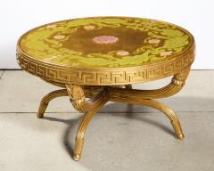 A French Giltwood and Eglomise Cocktail Table - 1116922