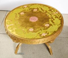A French Giltwood and Eglomise Cocktail Table - 1116923