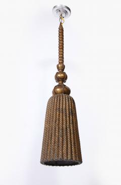 A French Tole Tassel Lantern - 1940975