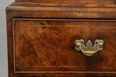 A George I Walnut Chest on Chest of Compact Size - 1176957