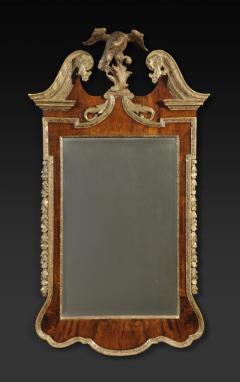 A George II Walnut and Parcel Gilt Mirror - 1178986