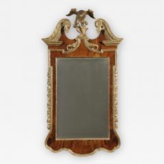 A George II Walnut and Parcel Gilt Mirror - 1179754