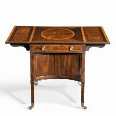 A George III Chippendale style satinwood Pembroke table - 1847678