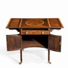 A George III Chippendale style satinwood Pembroke table - 1847681
