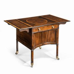 A George III Chippendale style satinwood Pembroke table - 1847684