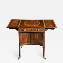 A George III Chippendale style satinwood Pembroke table - 1848454