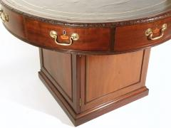 A George III Mahogany Library Rent Table - 364605