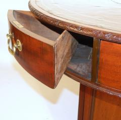 A George III Mahogany Library Rent Table - 364607