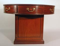 A George III Mahogany Library Rent Table - 364608