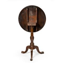A George III Mahogany Tilt Top Occasional Table - 1297614