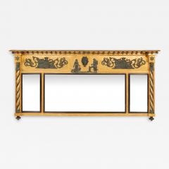 A George III Nelson Commemorative over mantle Mirror - 1071754