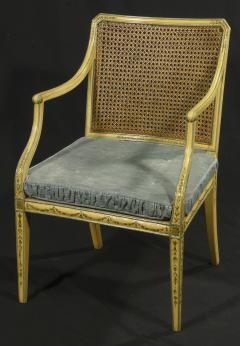 A George III Painted Armchair - 1073337