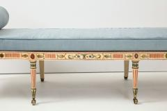 A George III Painted Daybed - 1111793