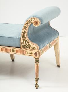 A George III Painted Daybed - 1111805