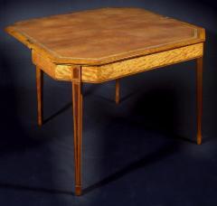 A George III Satinwood Games Table - 1024617