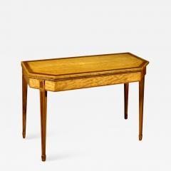 A George III Satinwood Games Table - 1025618