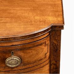 A George III breakfront yew wood inlaid mahogany sideboard - 1641774