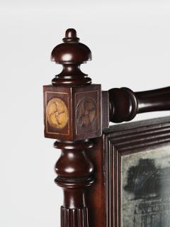 A George IV Mahogany Cheval Mirror - 1178749