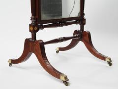A George IV Mahogany Cheval Mirror - 1178750