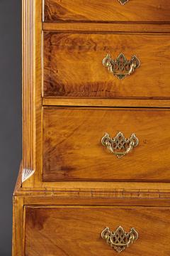 A Georgian Figural Walnut Chest on Chest - 588998