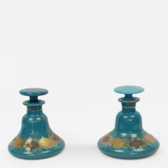 A Good Pair of Empire Opaline Scent Bottles - 449034