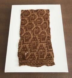 A Group of Three Framed Pre Columbian Textile Fragments - 600652