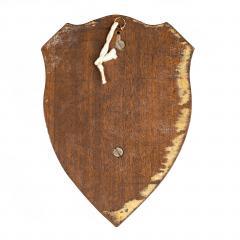 A HMS Victory centennial copper shield - 1840316