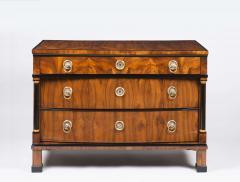 A Handsome Biedermeier Three Drawer Commode - 449161
