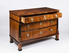 A Handsome Biedermeier Three Drawer Commode - 449162