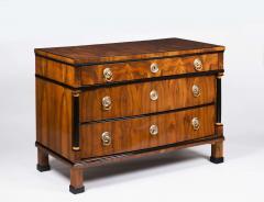 A Handsome Biedermeier Three Drawer Commode - 449164