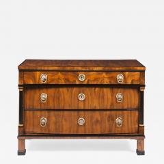 A Handsome Biedermeier Three Drawer Commode - 449560