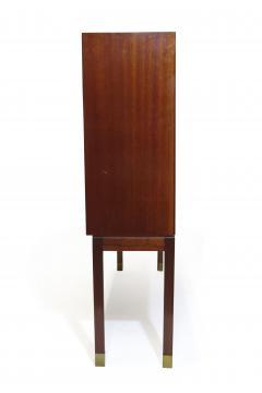A J Iversen 1940s Danish Mahogany Bookcases - 1538858