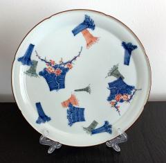 A Japanese Antique Kakiemon Plate from Arita - 986562