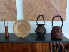 A Japanese Wagumi Style Bamboo Basket Ikebana - 988904