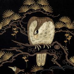 A Japanese needlework of an eagle - 1794037