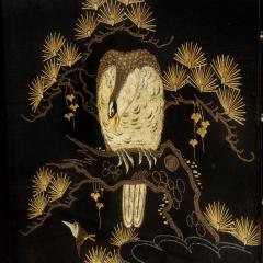 A Japanese needlework of an eagle - 1794039