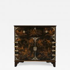 A Japanned Secretaire Set With Gilt Brass Mounts Of The Great Comet of 1811 - 541026