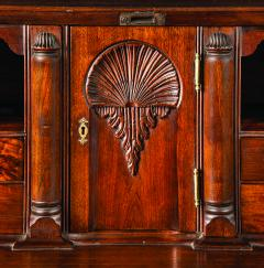 A Lancaster County Pennsylvania Walnut Desk with Carved Interior Circa 1785 - 256140
