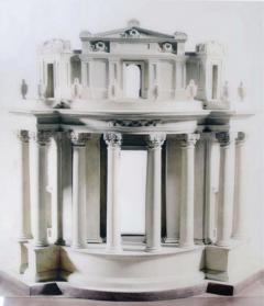 A Large Scale Photograph of Sir John Soane s Bank of England Model 2014 - 271223