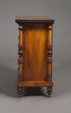 A Late George IV Geometric Inlaid Specimen Woods Commode - 1447694