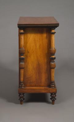 A Late George IV Geometric Inlaid Specimen Woods Commode - 1447695