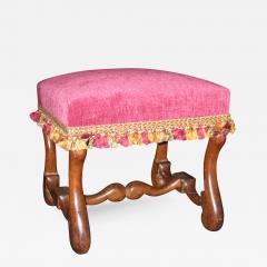 A Louis XIII Walnut Tabouret - 315631