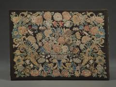 A Louis XIV Center Table Mounted With Rare Petit Point Floral Needlework Top - 1894706