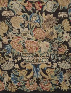 A Louis XIV Center Table Mounted With Rare Petit Point Floral Needlework Top - 1894709