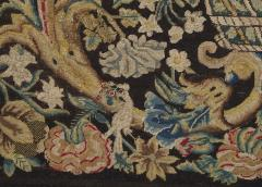 A Louis XIV Center Table Mounted With Rare Petit Point Floral Needlework Top - 1894710