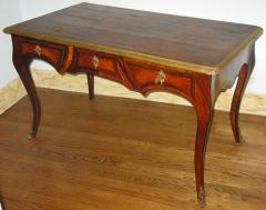 A Louis XV Kingwood Bureau Plat with Gilt Bronze Mounts - 270994