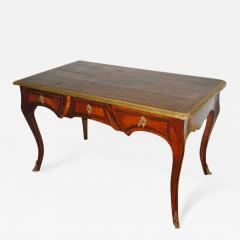 A Louis XV Kingwood Bureau Plat with Gilt Bronze Mounts - 272147