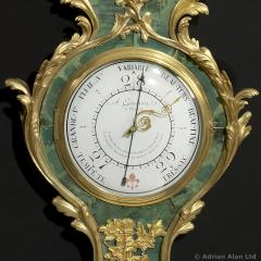 A Louis XV Style Clock and Barometer Set - 898712